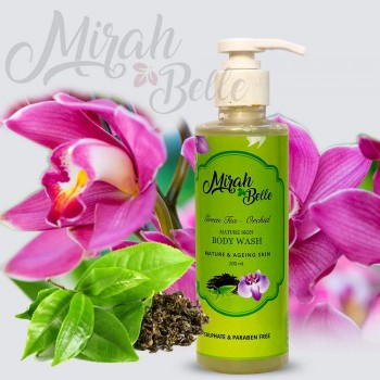 Green Tea - Orchid Mature Skin Body Wash