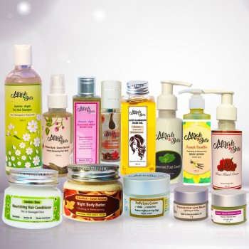 Natural Skin & Hair Care Products