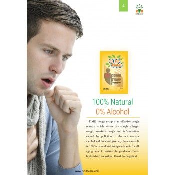 Onetime 100% Natural Cough Syrup