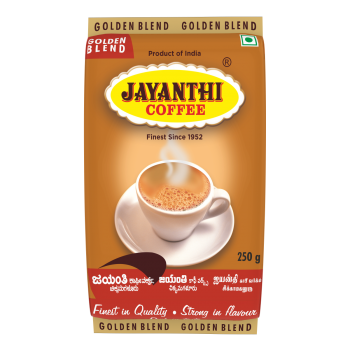 Golden Blend 85% Coffee, 15% Chicory By Jayanthi Coffee