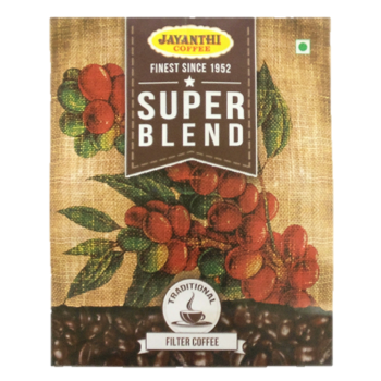 Super Blend 90% Coffee, 10% Chicory By Jayanthi Coffee