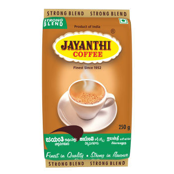 Strong Blend 65% Coffee,35% Chicory By jayanthi Coffee