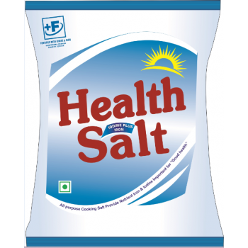 Health Salt-Double Fortified Salt (Iron + Iodine)