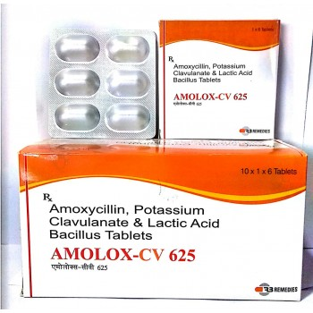 AMOLOX CV 625 TAB