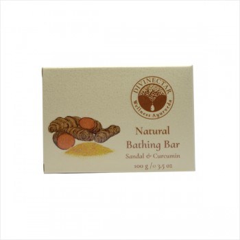 Natural Bathing Bar (Sandal & Curcumin)