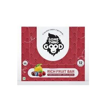 Something Good Rich Fruit Bar 12 Pack