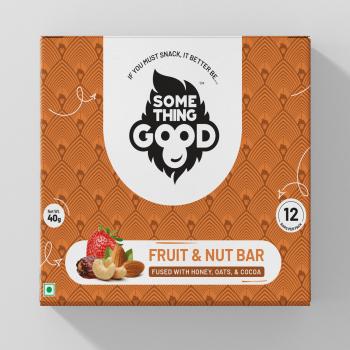 Something Good – Fruit & Nut Bar Pack of 12