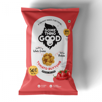 Something Good - Tomato Buttons(Pack of 12, 25gm Each)