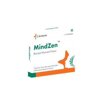 MindZen Bacopa Monnieri Extract (Pack of 120 Capsules)