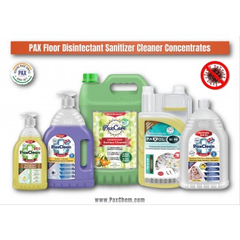 PaxChem Floor Disinfectant Sanitizer Cleaner Concentrates Range