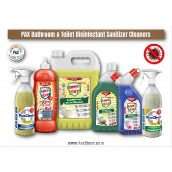 PaxChem Bathroom & Toilet Disinfectant Sanitizer Cleaners Range