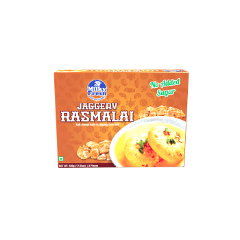 Frozen Ras Malai - 500 gms Tray/Cups