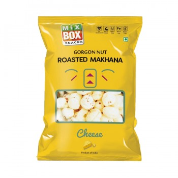 Mixbox Roasted Makhana – Cheese ( Small)