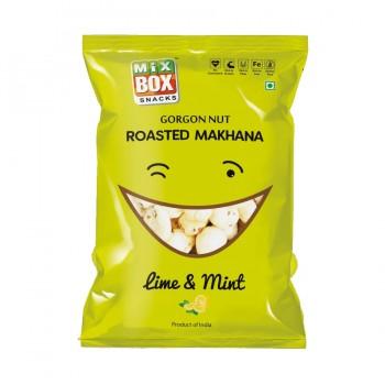 Mixbox Roasted Makhana – Lime & Mint (Small)