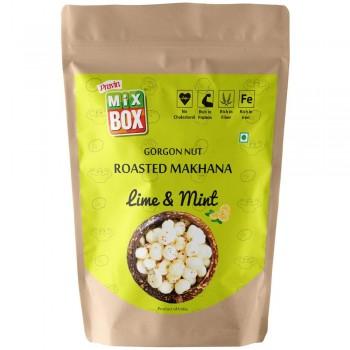 Mixbox Roasted Makhana – Lime & Mint (Big)