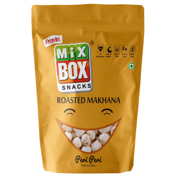 Mixbox Roasted Makhana – Peri Peri (Big)