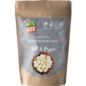 Mixbox Roasted Makhana – Salt & Pepper (Big)