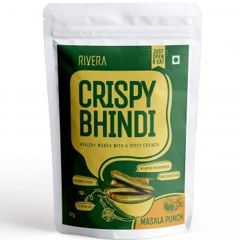 Crispy Bhindi (Jain)
