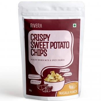 Crispy Sweet Potato Chips (Salted)